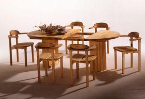 Mobile in legno massello opus1 di TEAM 7