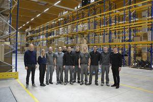 Apertura del nuovo centro logistica di TEAM 7