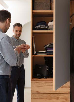 """Мебель для прихожей """"cubus"""" с многочисленными вариантами внутреннего устройства"""