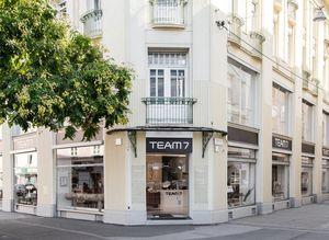 External view of store at TEAM 7 Graz