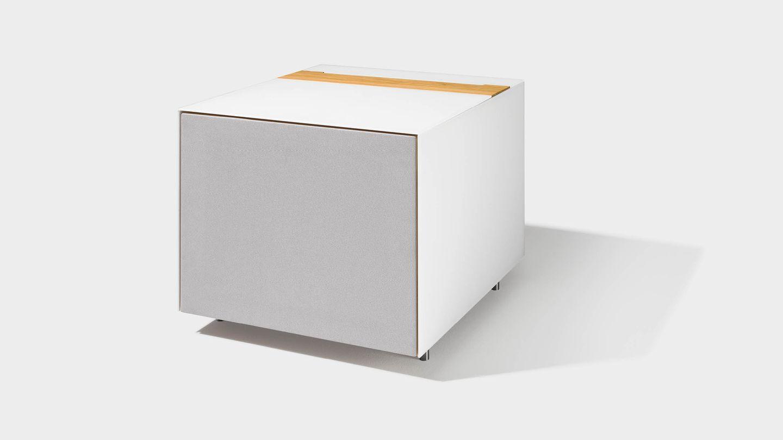 Home Entertainment Möbel cubus pure Subwooferwürfel