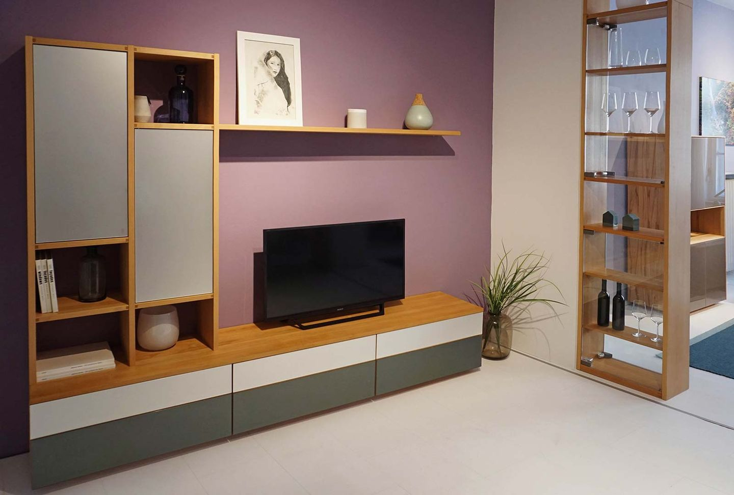 cubus wall unit TEAM 7 Munich