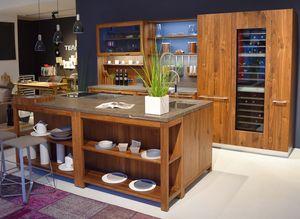 loft Küche aus Massivholz bei TEAM 7 Graz