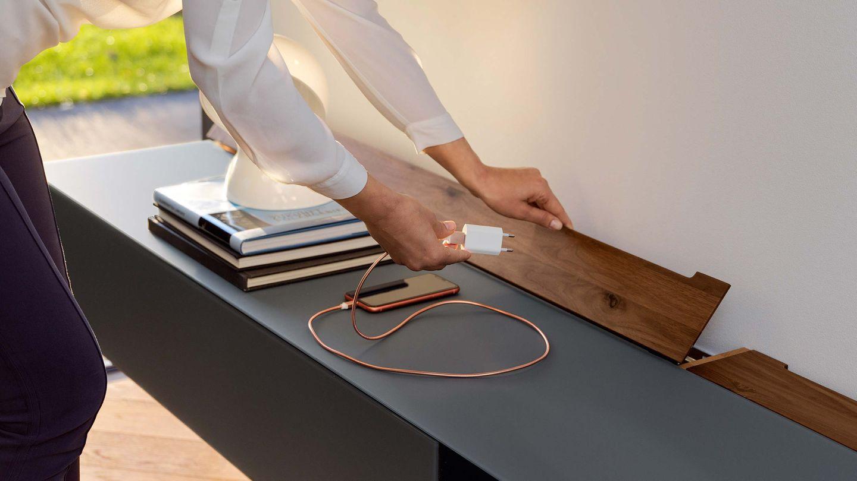conduit de câbles pour cubus pure séjour