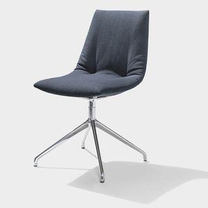 TEAM 7 chaise revetement en tissu confort