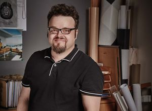 Il designer Sebastian Desch