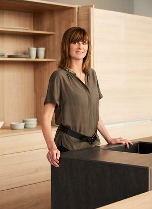 Storeleiterin Beatrice Adam von TEAM 7 München
