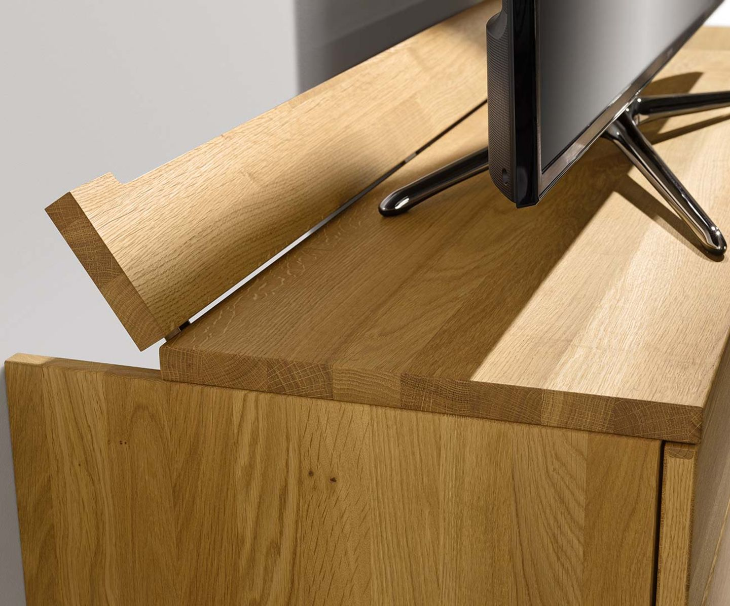 cubus wall unit with cable flap by TEAM 7