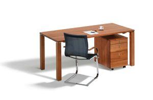 Home Office Schreibtisch cubus von TEAM 7