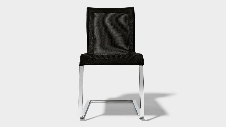 Chaise de salle à manger magnum stricktex vue de devant