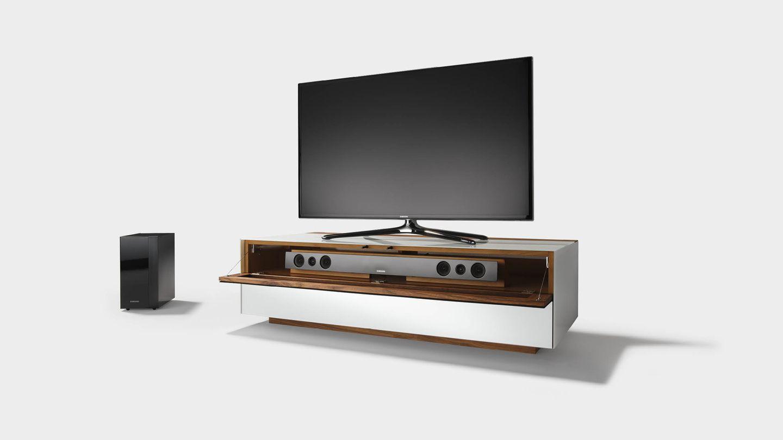 Home Entertainment Möbel cubus pure mit Platz für Soundbar