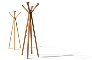 Kleiderständer hood aus Naturholz von TEAM 7