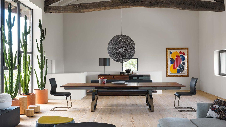 TEAM 7 nox Tisch von Designer Jacob Strobel