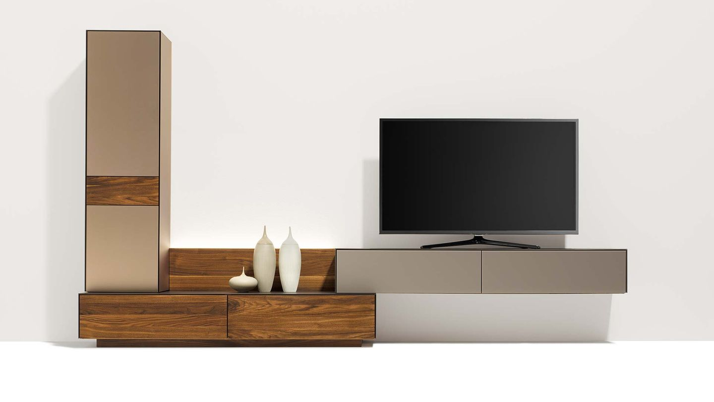 cubus pure designer wall unit with various depths