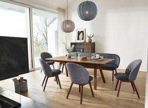 flor solid wood chair by TEAM 7