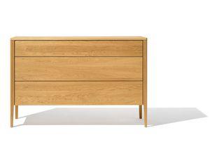 mylon dresser in oak by TEAM 7 frontal