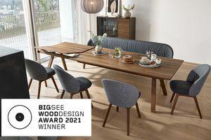 Prix BIG SEE Wood Design Award 2021 attribué à la table taso