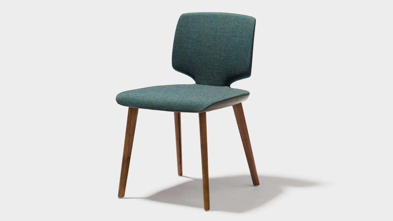 """Массивный деревянный стул """"aye"""" без подлокотников"""