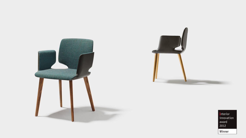 Premio di design per la sedia aye di TEAM 7 - interior innovation award 2012