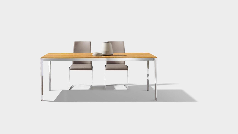 Table extensible tak en chêne