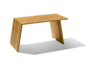 Petite table d'appoint sidekick en chêne