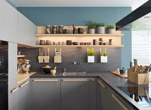 cera line kitchen with ceramics