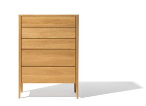 mylon highboard made of solid wood in oak
